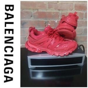 Balenciaga | Track 2.0 Logo Sneakers Red